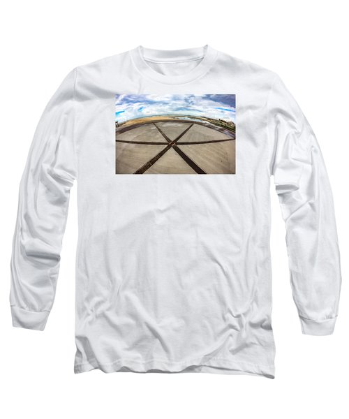 The Center Of The Earth Long Sleeve T-Shirt