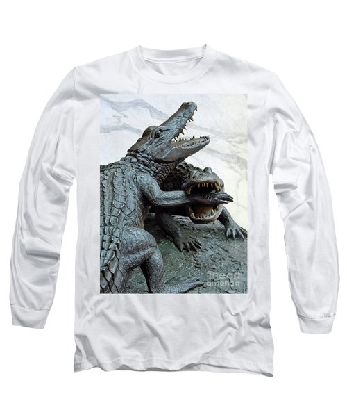 The Chomp Long Sleeve T-Shirt by D Hackett