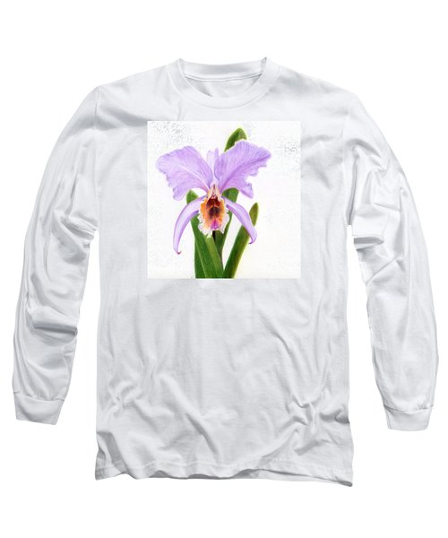 The Christmas Orchid Long Sleeve T-Shirt