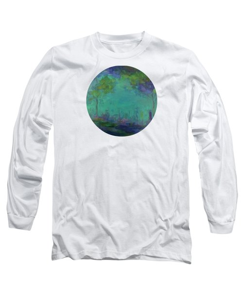 The City In The Distance Long Sleeve T-Shirt by Mary Wolf