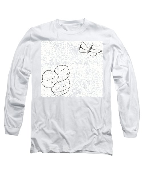 The Clouds Looked Down Their Noses Long Sleeve T-Shirt