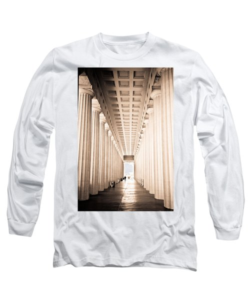 The Columns At Soldier Field Long Sleeve T-Shirt