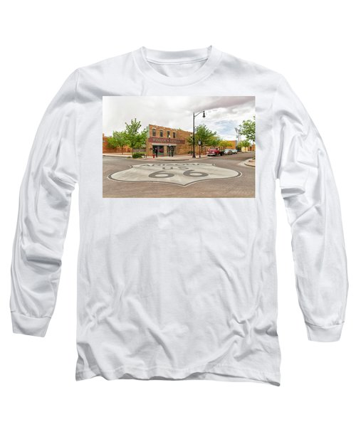 The Corner In Winslow Long Sleeve T-Shirt