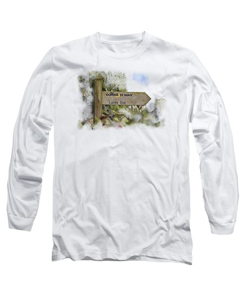 The Cornish Way On Transparent Background Long Sleeve T-Shirt