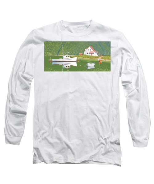 The Cottsge At Blackberry Point Long Sleeve T-Shirt