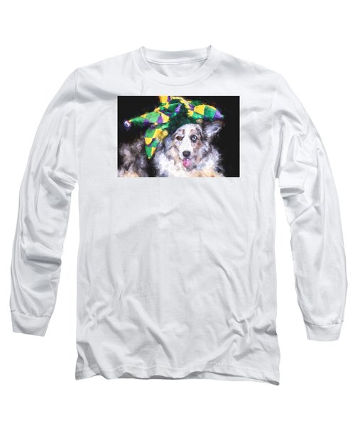The Court Jester Long Sleeve T-Shirt by Cathy Donohoue