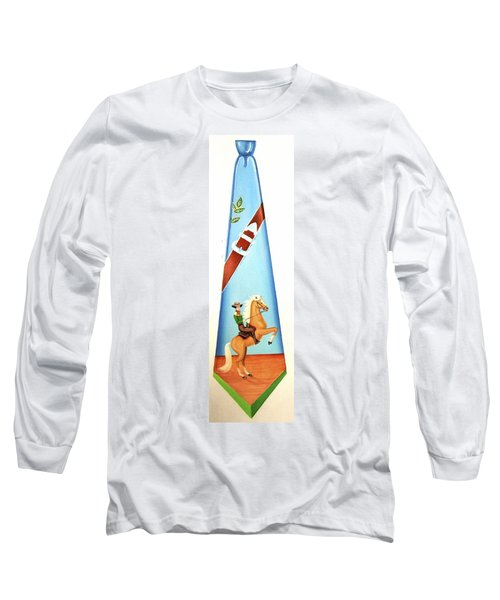 The Cowboy Long Sleeve T-Shirt by Tracy Dennison