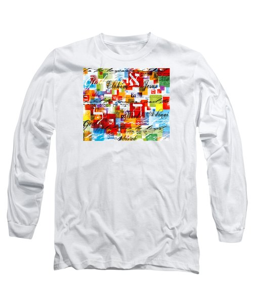 The Creator Long Sleeve T-Shirt by Gary Bodnar