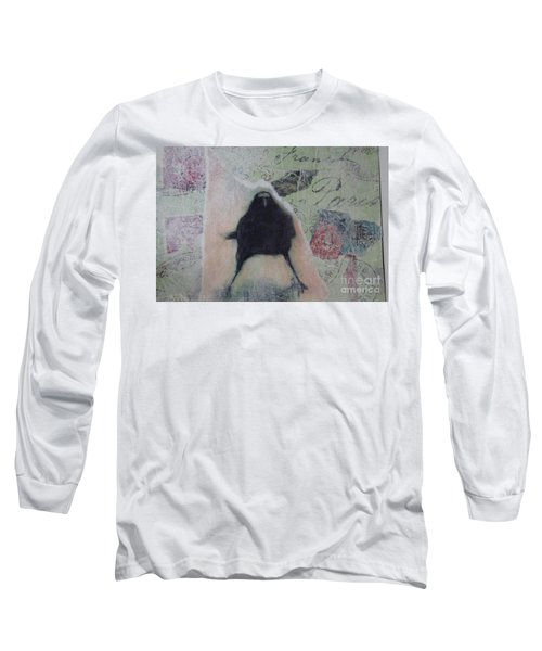 The Crow Called The Raven Black Long Sleeve T-Shirt