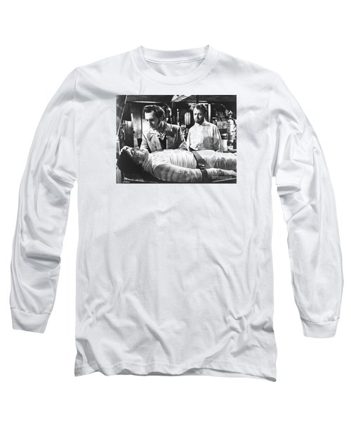The Curse Of Frankenstein 1957 Baron Victor Frankenstein Long Sleeve T-Shirt