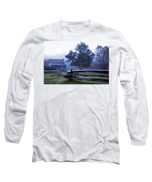 Long Sleeve T-Shirt featuring the photograph The Dan Lawson Place by Lana Trussell