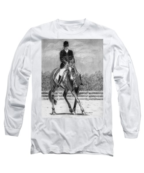 The Dance Long Sleeve T-Shirt by Quwatha Valentine