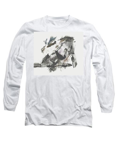 Long Sleeve T-Shirt featuring the digital art The Dancer by Galen Valle