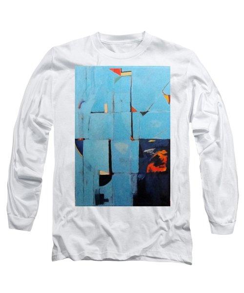 The Day Dispatches The Night Long Sleeve T-Shirt by Bernard Goodman