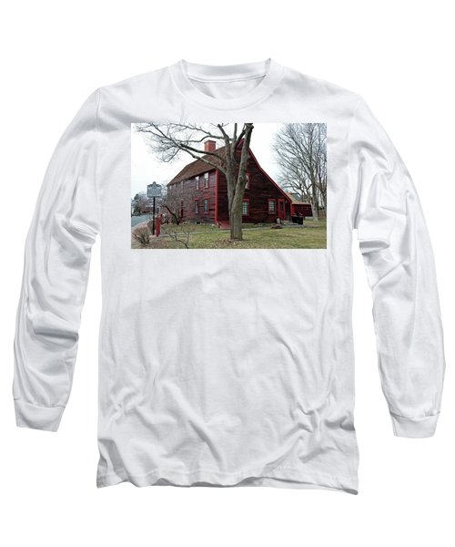 Long Sleeve T-Shirt featuring the photograph The Deane Winthrop House by Wayne Marshall Chase
