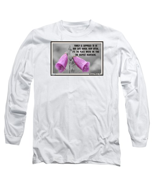 The Deepest Heartache Long Sleeve T-Shirt by Holley Jacobs