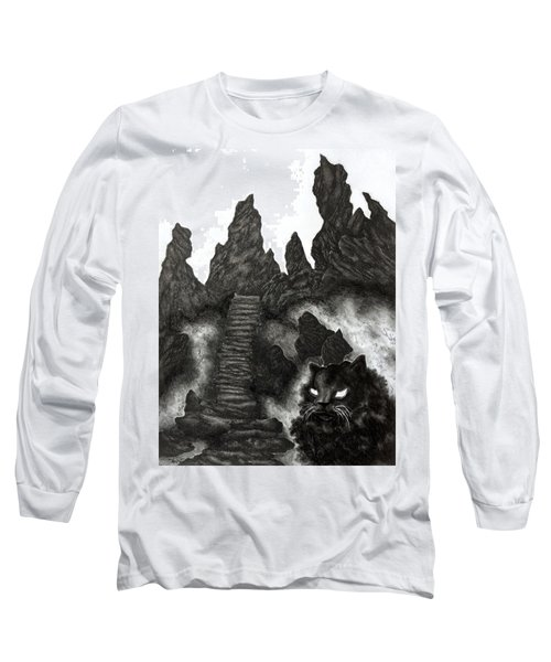 The Demon Cat Long Sleeve T-Shirt