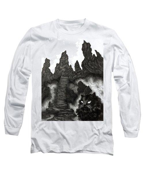 The Demon Cat Long Sleeve T-Shirt