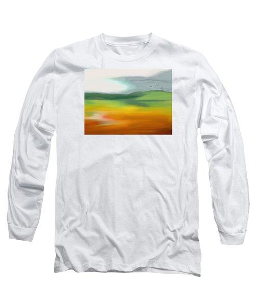 The Distant Hills Long Sleeve T-Shirt by Lenore Senior
