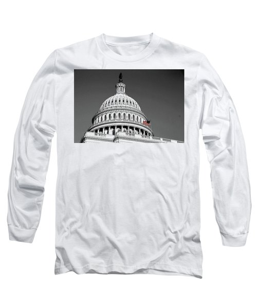 Long Sleeve T-Shirt featuring the photograph The Dome by John Schneider