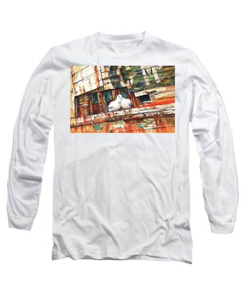 The Dove Boat Long Sleeve T-Shirt