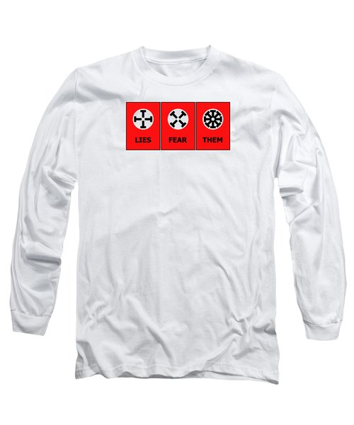 Long Sleeve T-Shirt featuring the digital art The Edge Of Dystopia by Richard Reeve