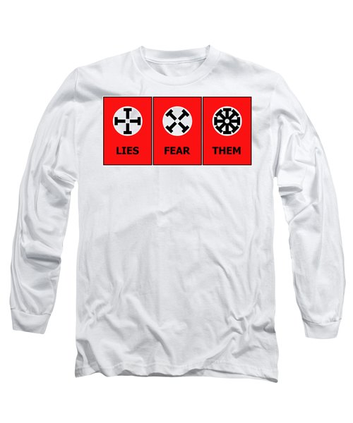 The Edge Of Dystopia Long Sleeve T-Shirt