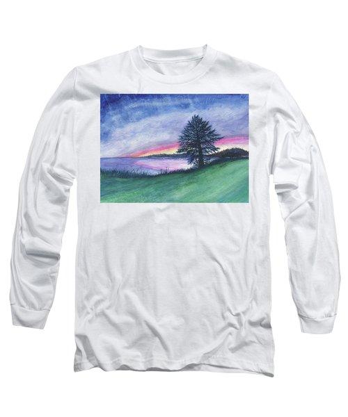 The Edge Of Evening Long Sleeve T-Shirt