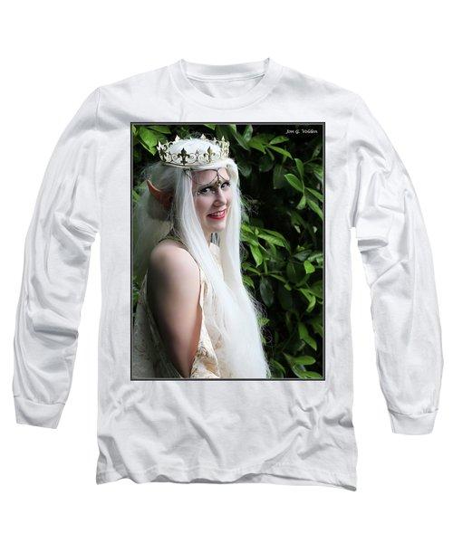 The Elven Queen Long Sleeve T-Shirt