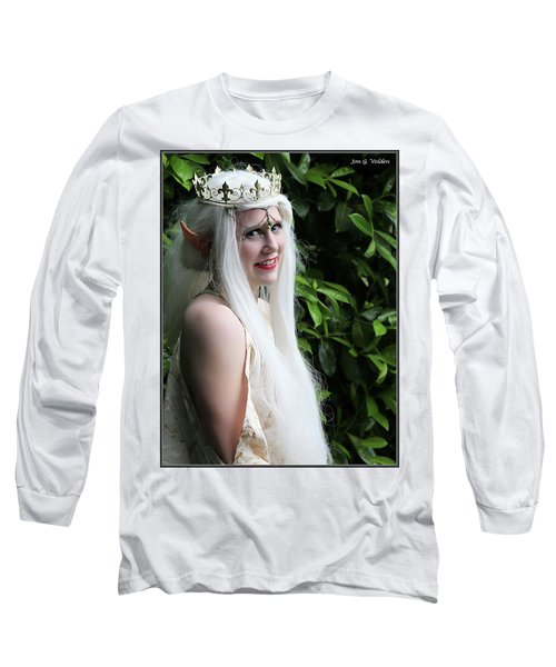 The Elven Queen Long Sleeve T-Shirt