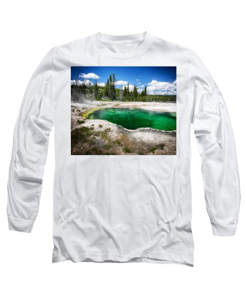 The Emerald Eye Long Sleeve T-Shirt