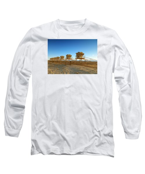 Long Sleeve T-Shirt featuring the photograph The End Of Summer by Everette McMahan jr