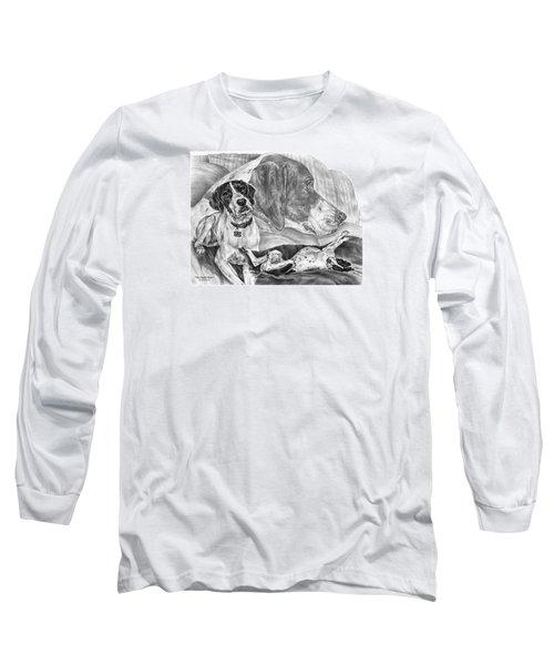 The English Major - English Pointer Dog Long Sleeve T-Shirt