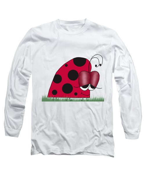 The Euphoric Ladybug Long Sleeve T-Shirt by Michelle Brenmark