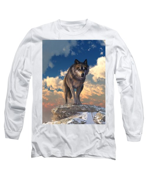 The Eyes Of Winter Long Sleeve T-Shirt