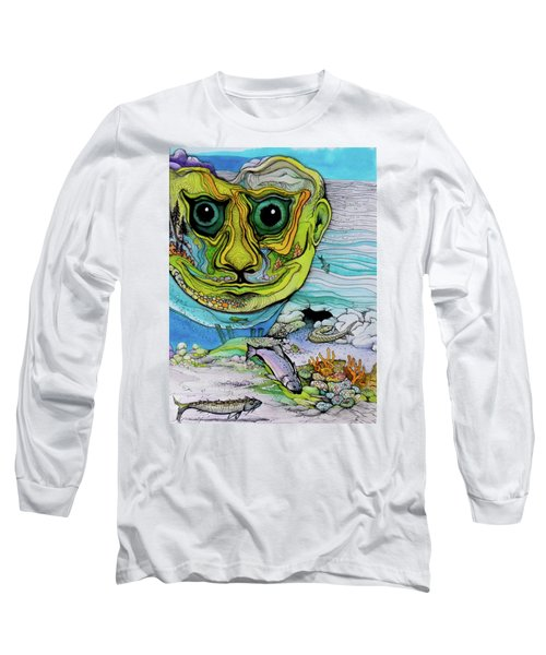 The Face Of Summer Lost Long Sleeve T-Shirt