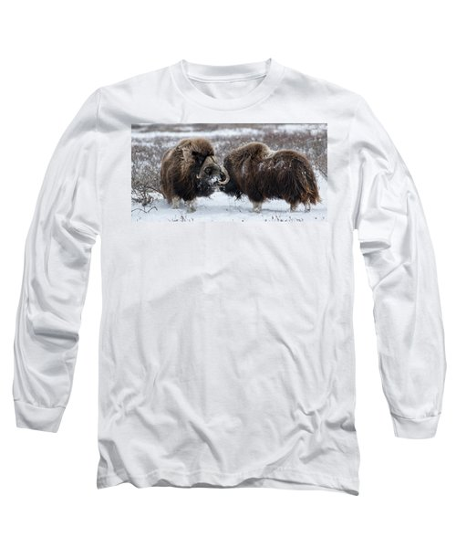 The Face Off  Long Sleeve T-Shirt