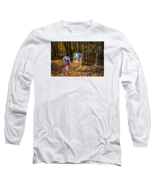 The Fairy In The Mirror Long Sleeve T-Shirt