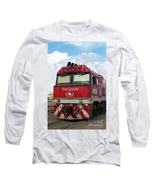 The Famed Ghan Train  Long Sleeve T-Shirt