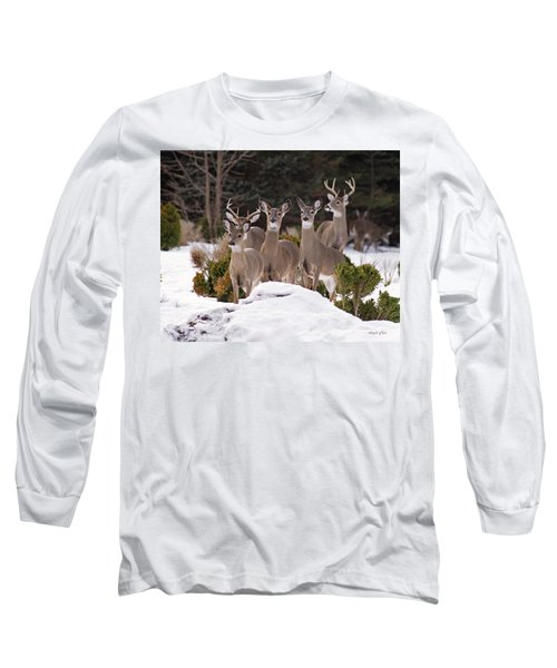 Long Sleeve T-Shirt featuring the photograph The Family by Angel Cher