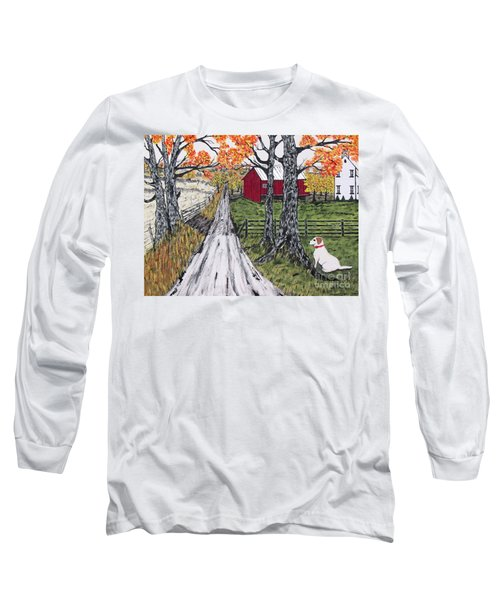 Sadie The Farm Dog Long Sleeve T-Shirt