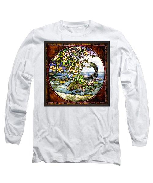 The Fish Long Sleeve T-Shirt by Joseph Skompski