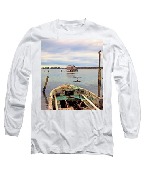 The Fishing Shack Long Sleeve T-Shirt