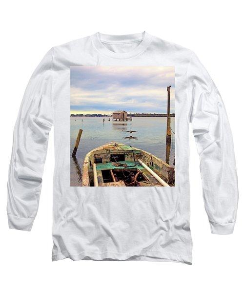 The Fishing Shack Long Sleeve T-Shirt