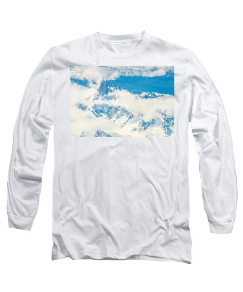 Long Sleeve T-Shirt featuring the photograph The Fitz Roy by Andrew Matwijec