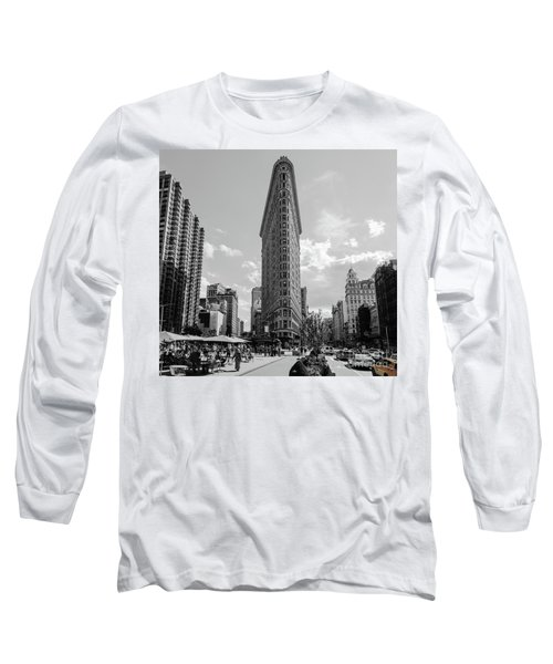 The Flatiron Building New York Long Sleeve T-Shirt