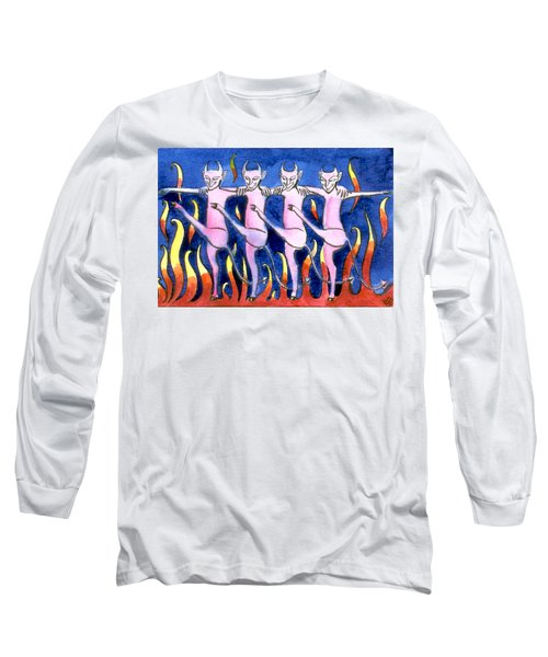 The Floorshow In Hell Long Sleeve T-Shirt