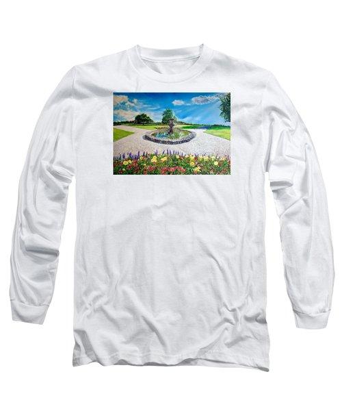 Gushing Fountain Long Sleeve T-Shirt