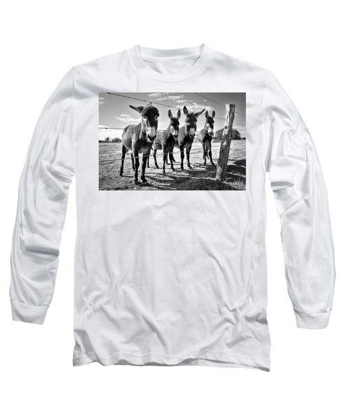 The Four Amigos Long Sleeve T-Shirt by Sharon Jones