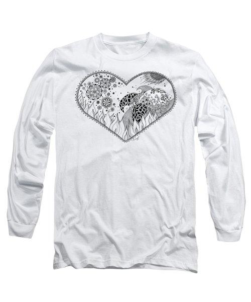 The Four Elements Long Sleeve T-Shirt by Ana V Ramirez